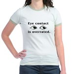Eye Contact Jr. Ringer T-Shirt