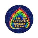 "I Am Human 3.5"" Button (100 pack)"