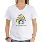 Autistic Pride Women's V-Neck T-Shirt