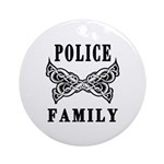 Police Family Ornament (Round)