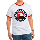 Obama-Biden Eagle Ringer T
