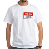 This Obama shirt is a great way to show that you are an Obama supporter: it's right there on your name tag! Traditional name tag design has your name reading: Obama Supporter - in handwritten text.