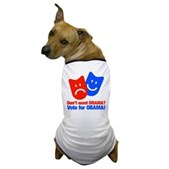 Vote Obama: No Drama! Dog T-Shirt