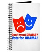 Vote Obama: No Drama! Journal