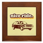 Nice Ride Framed Tile