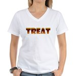 Glowing Treat Women's V-Neck T-Shirt