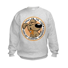 Paws for the Cure: Leukemia Kids Sweatshirt