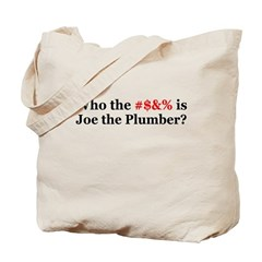 Who Is Joe The Plumber Tote Bag