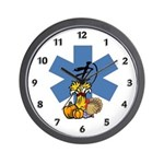 Thanksgiving EMS Wall Clock