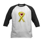 Keep My Sailor Safe Yellow Ribbon Kids Baseball Je