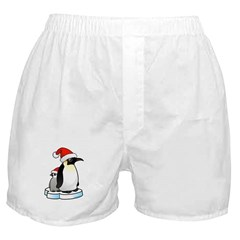 Birdorable Penguin Santa Boxer Shorts