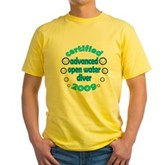 Advanced OWD 2009 Yellow T-Shirt