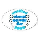 Advanced OWD 2009 Oval Sticker