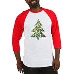 Parrot Christmas Tree Baseball Jersey
