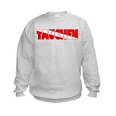 Tauchen German Scuba Flag Kids Sweatshirt