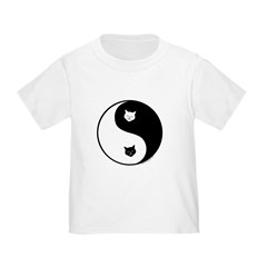yin yang meow Infant/Toddler T-Shirt