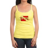 Pirate-style Diver Flag Jr. Spaghetti Tank