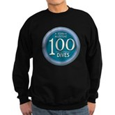 100 Dives Milestone Sweatshirt (dark)