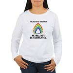 AS: Not Assimilated Women's Long Sleeve T-Shirt