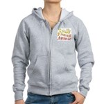 Totally Flaming Autistic Women's Zip Hoodie