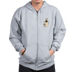 Holy Kitty Zip Hoodie