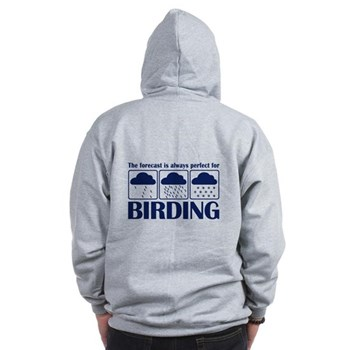 The Forecast for Birding Zip Hoodie