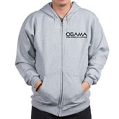 Logical Obama Zip Hoodie