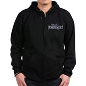 I Believe in Obamagic Zip Hoodie (dark)