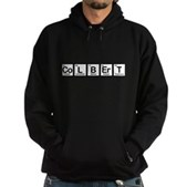 Elements of Truthiness BW Hoodie (dark)
