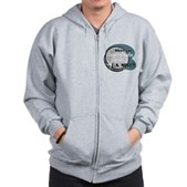 Where's My Quarter? Zip Hoodie