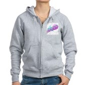 You Can't Handle the Truthiness Women's Zip Hoodie