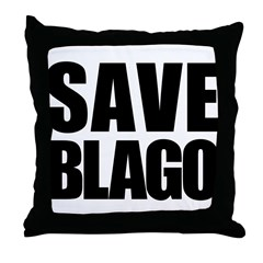 Save Illinois Governor Blagojevich, he's innocent! Throw Pillow