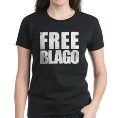 Free Illinois Governor Blagojevich, he's innocent! Women's Dark T-Shirt