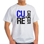 CureCancer(Colon Cancer) Light T-Shirt