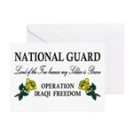 National Guard Soldier is Brave Greeting Cards (Pa
