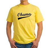 Obama Swish Yellow T-Shirt