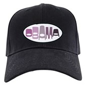 This vintage-look design in shades of purple reads Obama in a funky stylish font in an oval shape. This is a great, unique design for anyone that supports our 44th American President, Barack Obama.