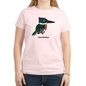Green Kingfisher Women's Light T-Shirt