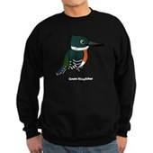 Green Kingfisher Sweatshirt (dark)