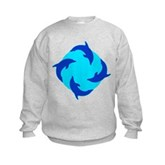 Dolphin Ring Kids Sweatshirt