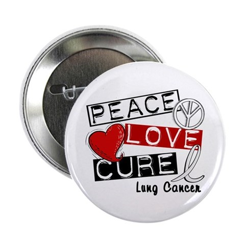 PEACE LOVE CURE Lung Cancer (L1) 2.25