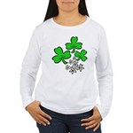 Irish Shamrocks Women's Long Sleeve T-Shirt