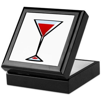 Vampire Martini Keepsake Box