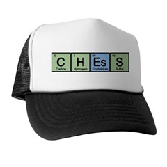 Chess made of Elements Trucker Hat