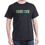 Chess made of Elements Dark T-Shirt