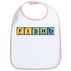 Fisher made of Elements Bib