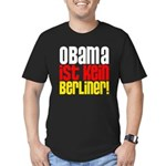 Obama Ist Kein Berliner! Men's Fitted T-Shirt (dark)