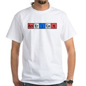 American made of Elements White T-Shirt
