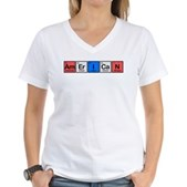 American made of Elements Women's V-Neck T-Shirt