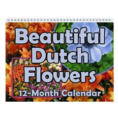 Tulip & Flower Calendars Wall Calendar